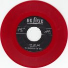 BILL ROBINSON & QUAILS ~ I Know She's Gone*Mint-45*RARE RED WAX !