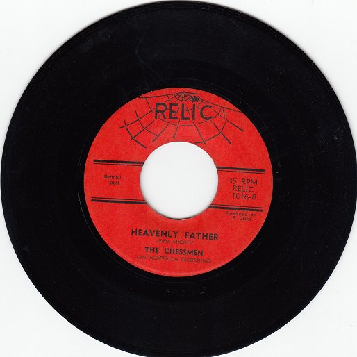 CHESSMEN ~ Heavenly Father*Mint-45 !