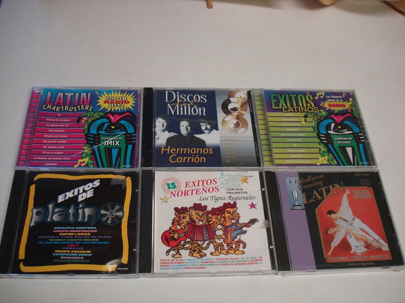 6 RARE LATIN MUSIC*Mint-CD's !