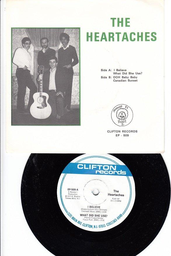 HEARTACHES ~ Mint-RARE EP w/45 !