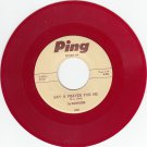 DE'BONAIRS ~ Say A Prayer For Me*Mint-45*RARE RED WAX !