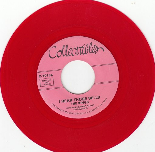 KINGS ~ I Hear Those Bells *Mint-45*RARE RED WAX !