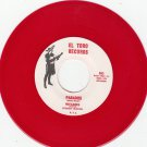 INVADERS ~ Paradise *Mint-45*RARE RED WAX !