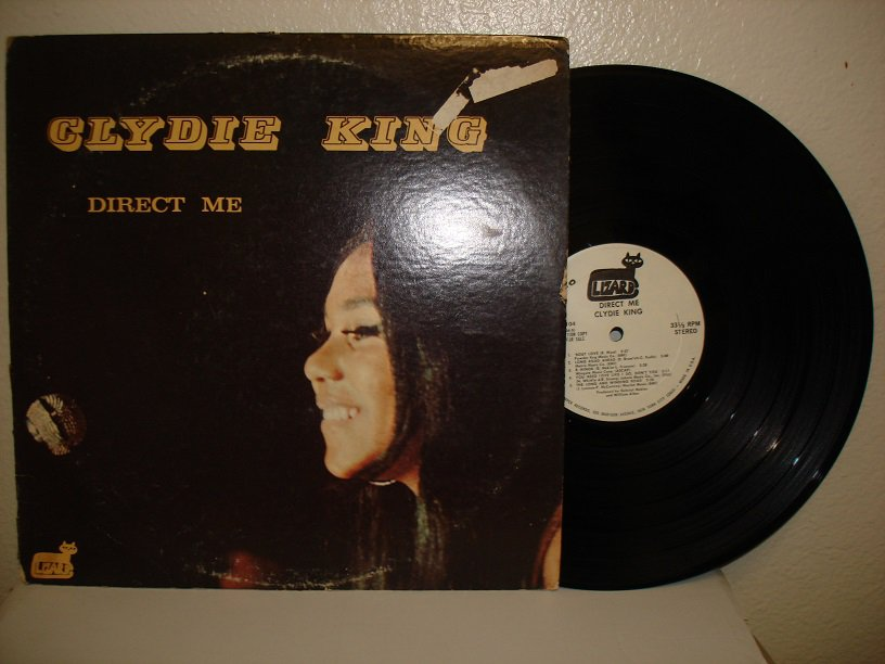 CLYDIE KING  ~ Direct Me * STEREO LP !
