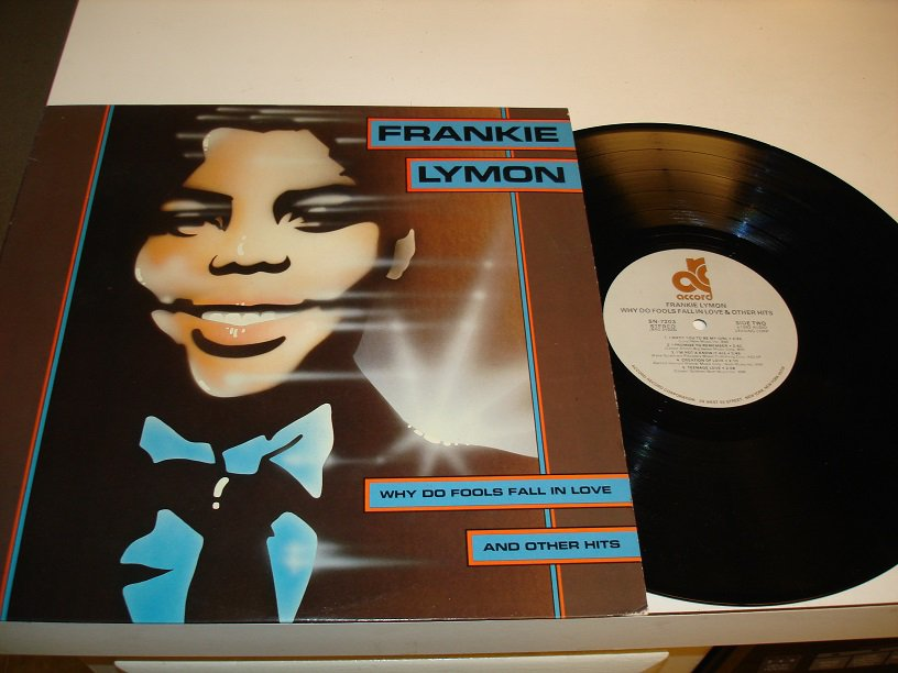 FRANKIE LYMON  & Teenagers~ Why Do Fools Fall In Love & Other Hits * STEREO LP !