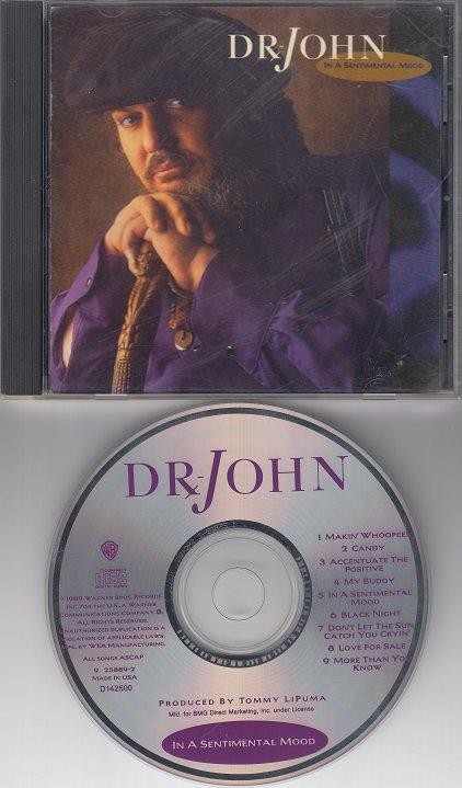DR JOHN ~ In A Sentinental Mood *Mint-CD !