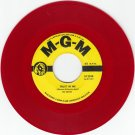 NOTES ~ Trust In Me*VG*45*RARE RED WAX !