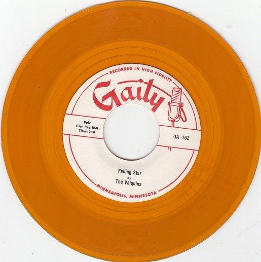 VALQUINS ~ Falling Star*Mint-45*RARE YELLOW WAX !