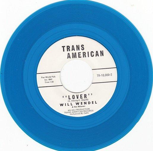WILL WENDEL & AKTONES ~ Lover*Mint-45*RARE BLUE WAX !