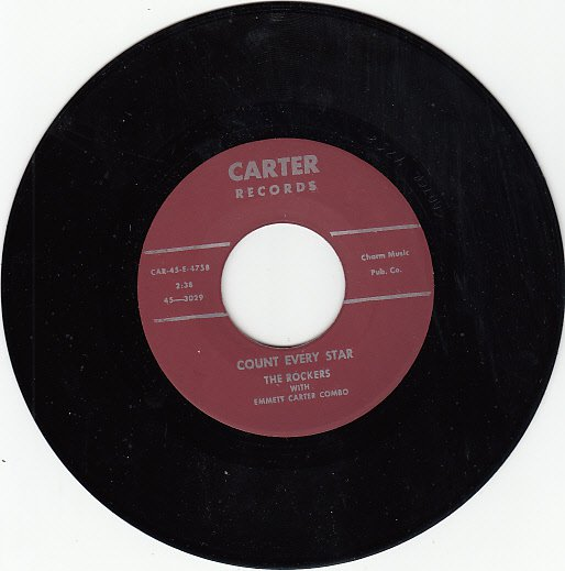 ROCKERS ~ Count Every Star*Mint-45 !