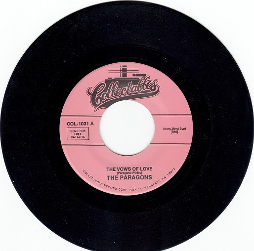 PARAGONS ~ The Vows Of Love*Mint-45 !