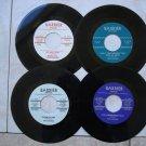 4 BARRIER RECORDS LABEL*MINT-DOO WOP*45s !