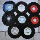 8 U.G.H.A RECORDS LABEL*MINT-DOO WOP*45s !