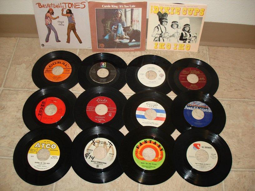 300 + 45's RPM RECORDS !