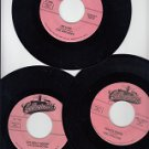 Collectables Records Set Of 3*Mint-45s !