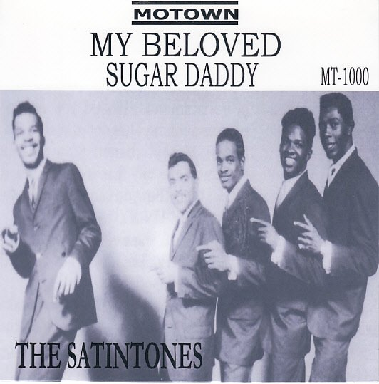 SATINTONES ~ My Beloved*Mint- RARE PICTURE SLEEVE  !