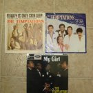 3 TEMPTATIONS ~ RARE PICTURE SLEEVES ONLY !