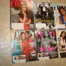 6 Rare Ebony Magazines Beyonce,Mariah,Magic,Michelle & More !