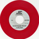 5 MAJORS ~ ECHO IN MY HEART*RARE RED WAX*M-45 !