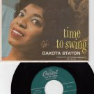 DAKOTA STATON ~ Time To Swing*VG+EP !