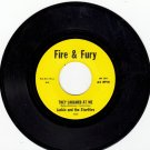 JACKIE AND THE STARLITES ~ They Laughed At Me*Mint-45 !