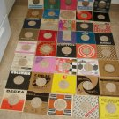 100's OF VINTAGE COMPANY 45 RPM RECORD SLEEVES*$1 EACH !
