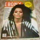 DIANA ROSS ~ Rare Ebony Magazine !