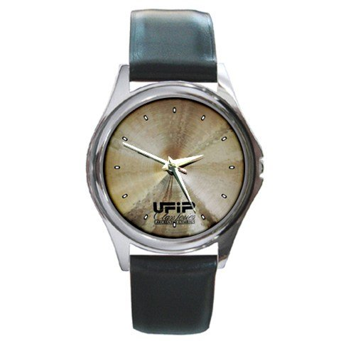 UFIP Class Series Cymbal Style Round Metal Watch