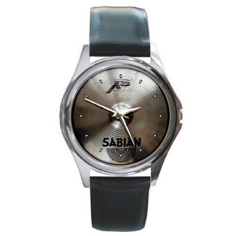 Sabian Xs20 16inch Medium Thin Crash Cymbal Style Round Metal Watch