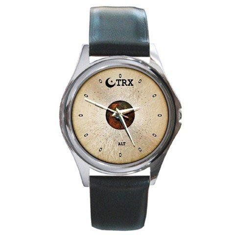 TRX ALT Series Ride Cymbal Style Round Metal Watch