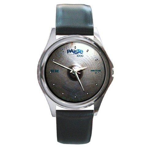 Paiste 1000 Rude 20inch Ride-Crash Cymbal Style Round Metal Watch