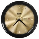 Paiste Formula 602 20inch Medium Ride Cymbal Style Black Wall Clock