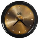 Paiste Giant Beat Cymbal Style Black Wall Clock