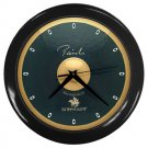 Paiste Signature 22inch Blue Bell Ride Cymbal Style Black Wall Clock