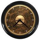 Paiste Signature 22inch Dark Metal Ride Cymbal Style Black Wall Clock