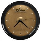 Zildjian K Constantinople Prototype 17inch Crash Cymbal Style Black Wall Clock