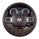 2009 Dodge Ram 1500 2wd Crew Cab 140 5 Laramie Steering Wheel Round Mousepad