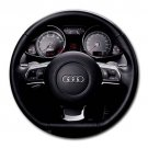 2008 Audi R8 Instrument Panel And Steering Wheel Round Mousepad