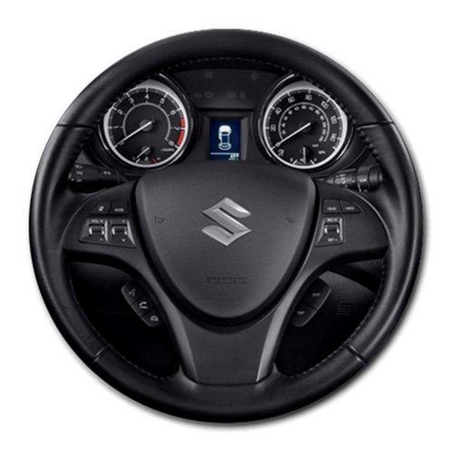 2013 Suzuki Kizashi 4 Door Sedan CVT FWD GTS Sport Steering Wheel Round Mousepad