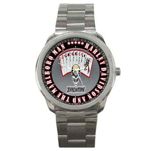 Harley Davidson And The Marlboro Man Sport Metal Watch