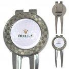 Golf Ball 3-in-1 Golf Divot Repair Tool/Ball Mark/Money Clip