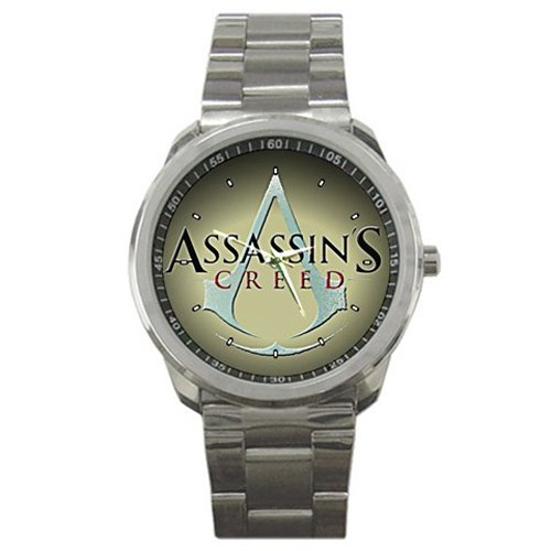 Assassin's Creed Logo Quality Sport Metal Watch Gift