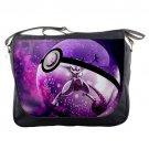 Pokemon Go Mewtwo Pokeball School Messenger Bag Shoulder Travel Notebook Bag