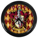 Harry Potter Gryffindor Hogwarts School Black Wall Clock