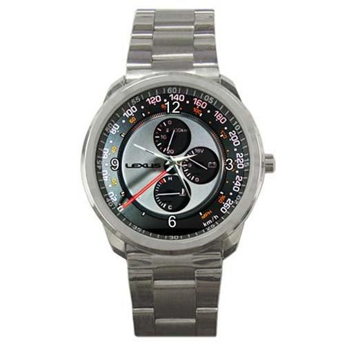 HOT* Lexus Is300 Speedometer Style Sport Metal Wrist Watch Gift