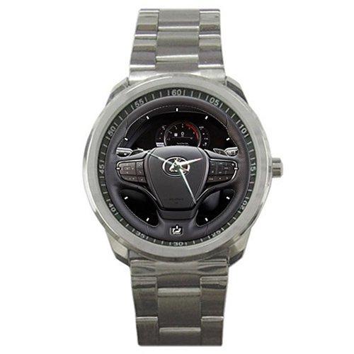 HOT* 2018 Lexus LS 500 F Sport Steering Wheel Style Sport Metal Wrist Watch Gift