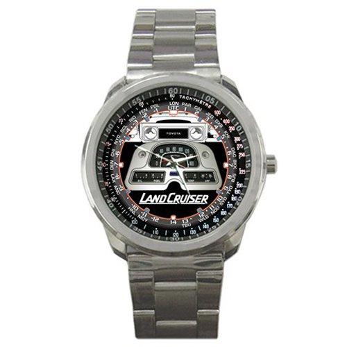 HOT* Toyota Land Cruiser Speedometer Style Sport Metal Wrist Watch Gift