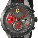 Ferrari Men's RedRev Evo Steel Rubber Watch