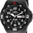 Invicta Men's Coalition Forces Quartz 3 Hand Black Dial Watch