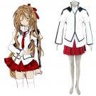 Japanese School Uniform Cross Cosplay Costume